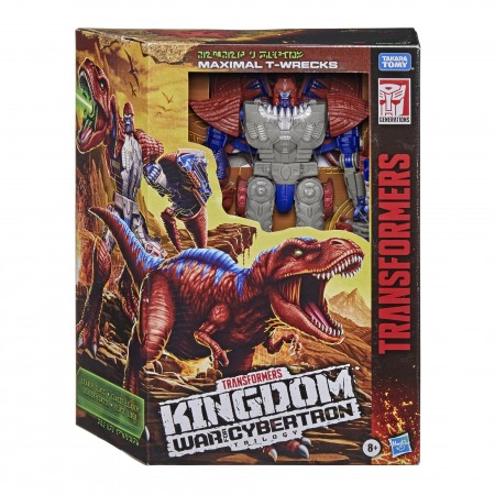 Transformers Kingdom Leader T-Wrecks