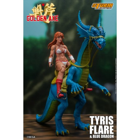 Golden Axe Tyris Flare and Blue Dragon Storm Collectibles 1/12 Action Figure