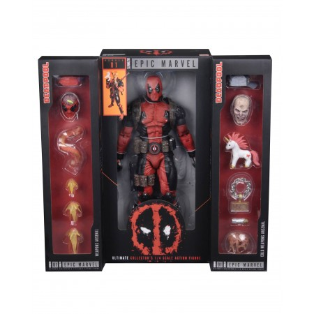 NECA 1/4 Scale Ultimate Deadpool Action Figure