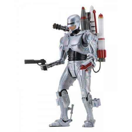 NECA Robocop Vs Terminator Ultimate Future Robocop Figure
