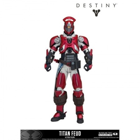 Destiny 2 Vault of Glass Titan with Feud Unfading Shader