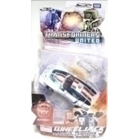 Transformers Wheeljack UN-19 United Deluxe Figure