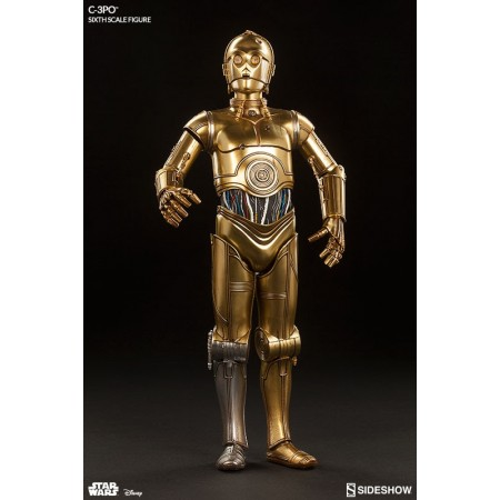 Sideshow Collectibles Star Wars C-3PO 1/6 Scale Figure
