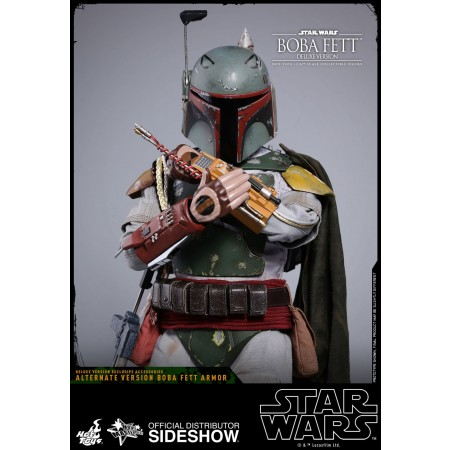 Hot Toys 1:6 Boba Fett - The Empire Strikes Back – Deluxe