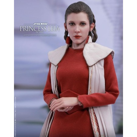 Juguetes calientes 1:6 la princesa Leia - traje de Bespin