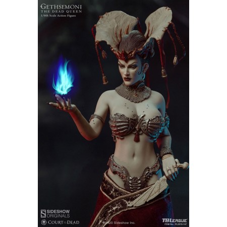 Sideshow Court of the Dead Gethsemoni, The Dead Queen 1/6 Scale Action Figure