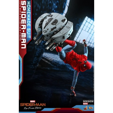 Hot Toys Spider-Man Far From Home Homemade Suit & Attack Drone