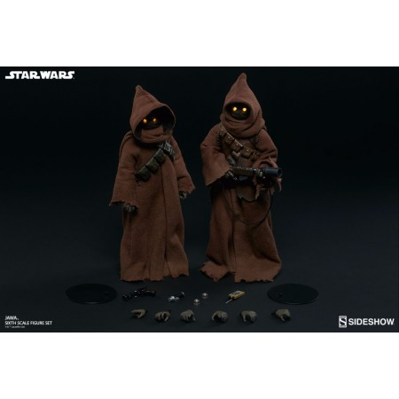 Sideshow Jawa Twin Set - Star Wars: A New Hope 1/6 collectable figure