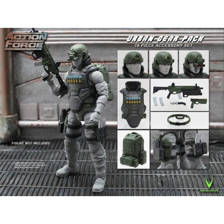 Action Force Urban Gear