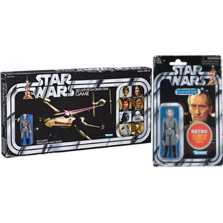 Star Wars Escape From Deathstar Retro Board Game & Moff Tarkin Figure