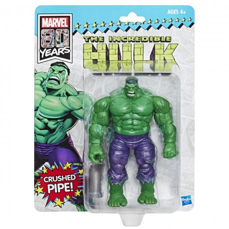 Marvel Legends SDCC Vintage Hulk Action Figure