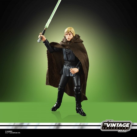 Star Wars The Vintage Collection Luke Skywalker Jedi Knight 3.75 Inch Action Figure