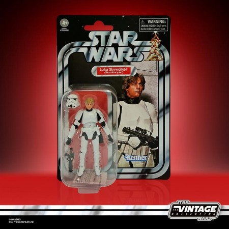 Star Wars The Vintage Collection Stormtrooper Luke Skywalker