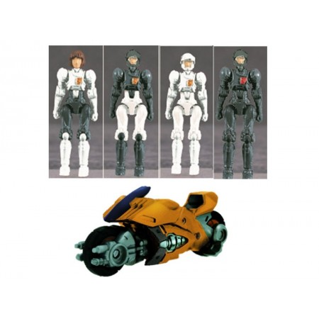 Diaclone DA-41 Female Pilot Set & Viper Bike