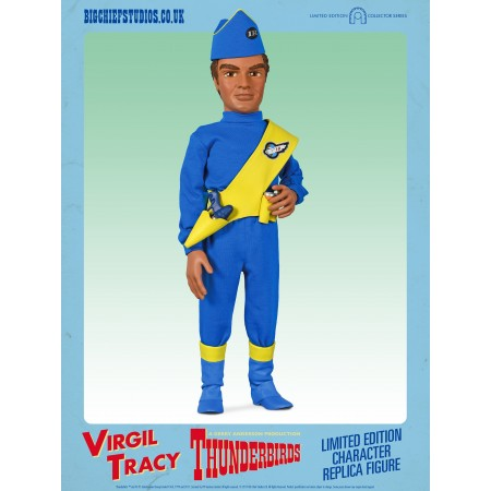 Virgil Tracy Thunderbirds Character Replica Figures by BIG Chief Studios