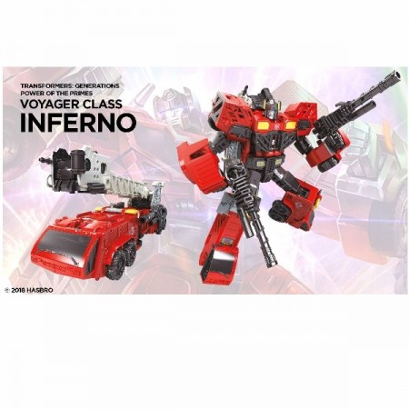 Transformers Power Of The Primes Voyager Inferno