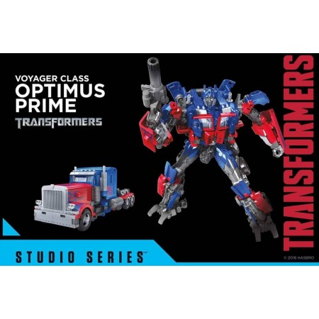 Transformers Studio Series Voyager Optimus Prime ( 2007 Movie )