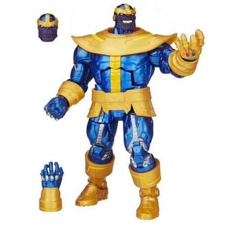 Figura de acción exclusiva de Thanos Walmart de leyendas Marvel