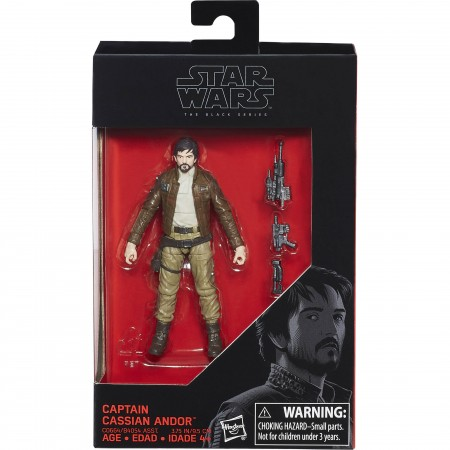 Star Wars Black Series Cassian Andor 3.75 Inch