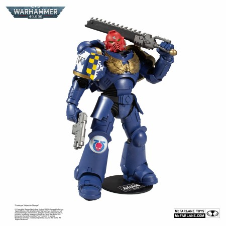 Warhammer 40000 Ultramarines Primaris Assault Intercessor Action Figure