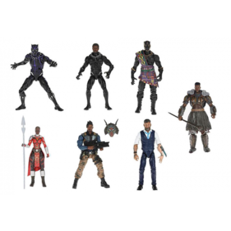Marvel Legends Black Panther Wave 2 Set of 6 M'Baku Build A Figure