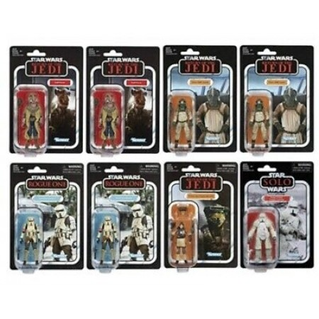 Star Wars The Vintage Collection Wave 20 Sealed Case of 8