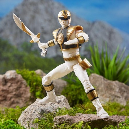 Hasbro Power Rangers Wave 1 Ranger blanco