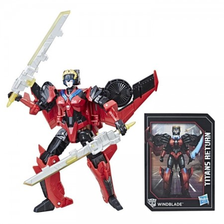 Transformers Titans Return Deluxe Windblade