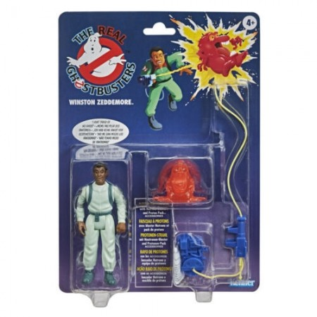 Ghostbusters Kenner Classics Winston Zeddemore Retro Action Figure