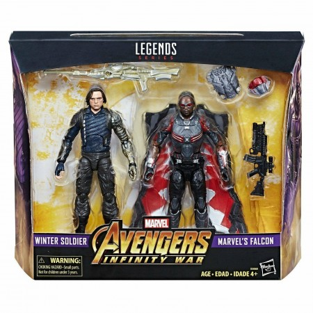 Marvel Legends Winter Soldier And Falcon 2 Pack