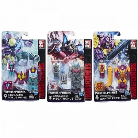 Transformers Power Of The Primes Prime Masters Wave 3 Set of 3