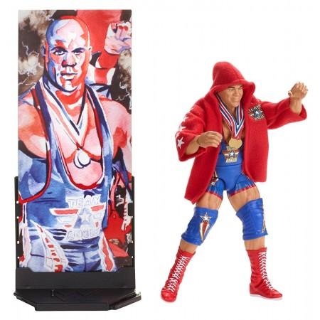 WWE Elite Series 59 Flashback Kurt Angle