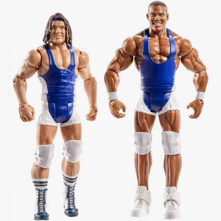 WWE Series 48 Battle Pack American Alpha Chad Gable & Jason Jordan