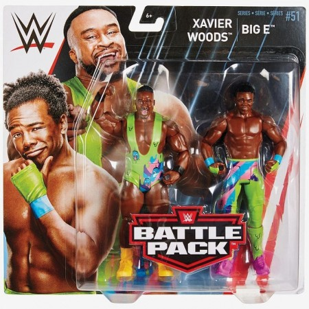 WWE Battle Pack Series 51 The New Day Big E & Xavier