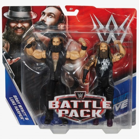 WWE Battle Pack Series 47 Bray Wyatt & Luke Harper