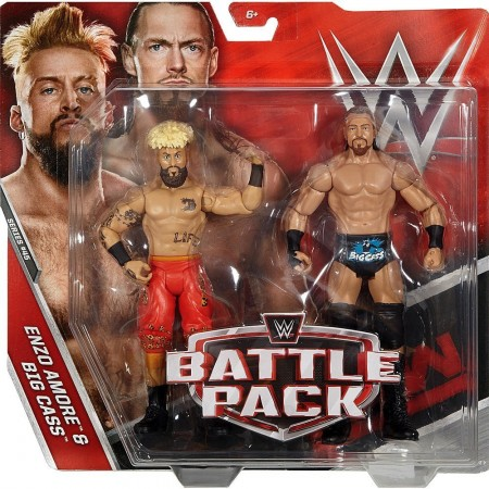 WWE Enzo Amore & Big Cass Battle Pack Series 45