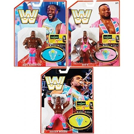 WWE Retro Series 5 The New Day Set of 3