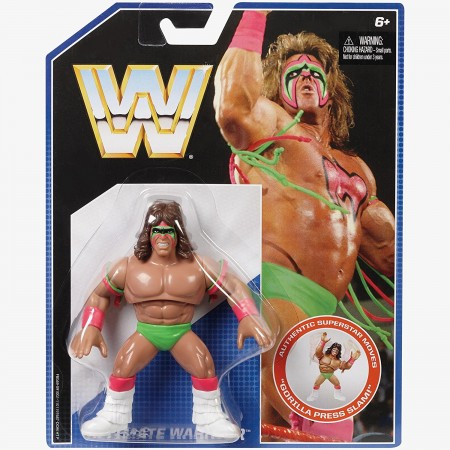 Mattel WWE Retro Series 1 Ultimate Warrior