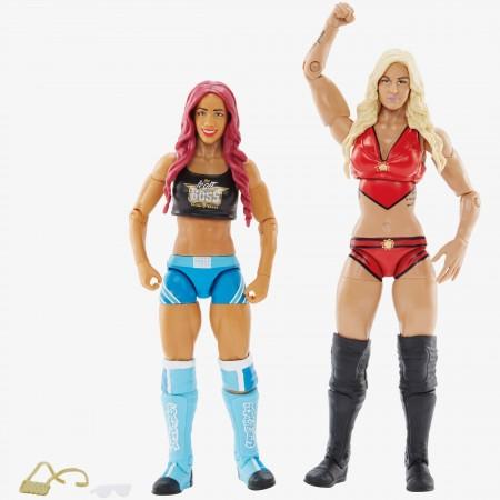 WWE Battle Pack Series 47 Sasha Banks & Charlotte Flair