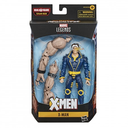 Marvel Legends X-Man 6 Inch Action Figure ( Sugar Man BAF )