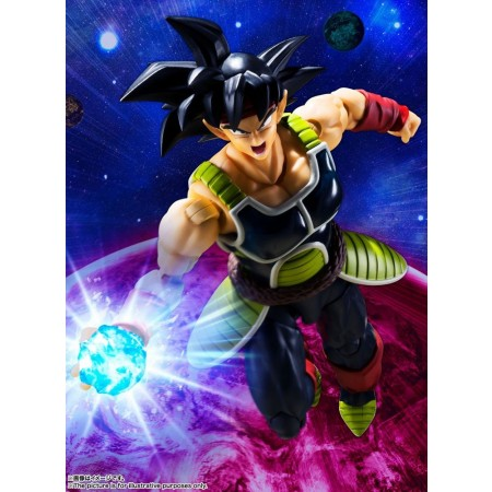 Dragon Ball Z S.H. Figuarts Bardock Action Figure