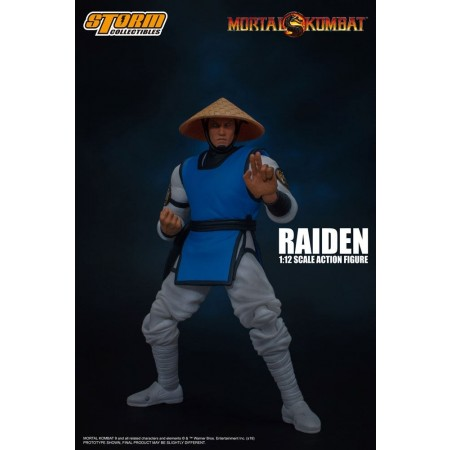Mortal Kombat Raiden Storm Collectibles Action Figure