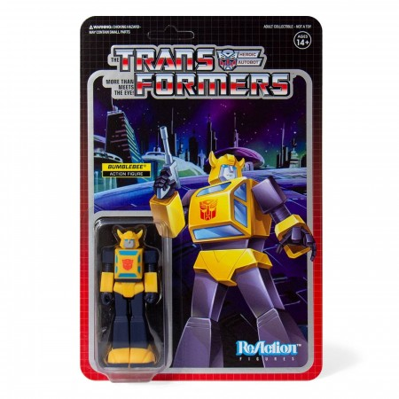 Transformers ReAction Bumblebee Action Figure