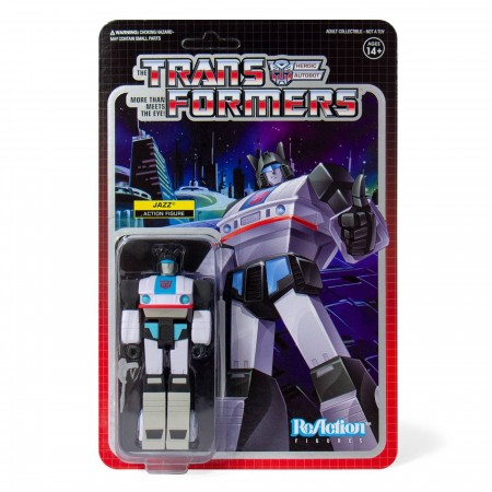 Transformers ReAction Jazz Action Figure