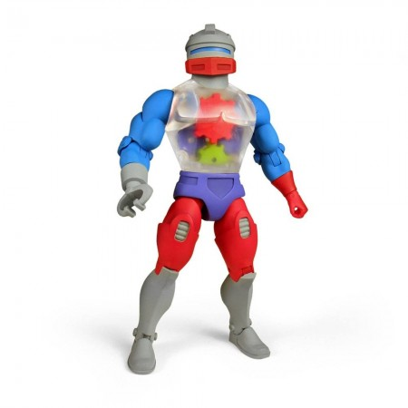 Super7 Masters Of The Universe Club Graykull Roboto Action Figure