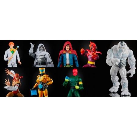 Marvel Legends Super Villains Wave 1 Set of 7 with Xemnu BAF