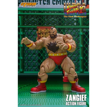 Storm Collectibles Ultra Street Fighter II Zangief Final Challengers Action Figure