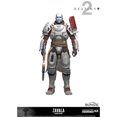 McFarlane Destiny 2 Zavala Action Figure