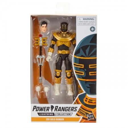 Power Rangers Lightning Collection Gold Zeo Ranger Action Figure
