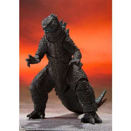 Godzilla vs. Kong 2021 S.H. MonsterArts Action Figure Godzilla